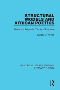 Structural Models and African Poetics