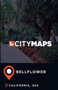 City Maps Bellflower California, USA