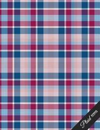 Plaid Notebook Collection: School Writing Composition Notebook/Journal/Diary Gift 100 Pages, 8.5 X 11