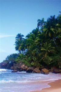 Journal: Dominican Republic, Beach, 6x9, 150 Lined Sheets