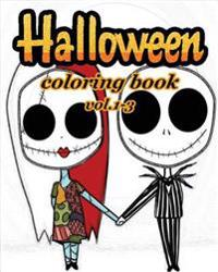 Halloween Coloring Book: Coloring Book Vol.1-3: Stress Relieving Coloring Book