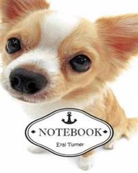Notebook Journal: Little Dog: Pocket Notebook Journal Diary, 120 Pages, 8 X 10 (Dot-Grid, Graph, Lined, Blank No Lined Notebook Journal)