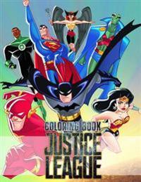 Justice League Coloring Book: Batman, the Flash, Green Lantern, Martian Manhunterad, Superman, Wonder Woman, Zatanna