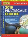 Philip's 2019 Multiscale Road Atlas Europe