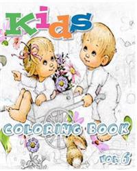 Kids: Coloring Books Vol.6: Stress Relieving Coloring Book