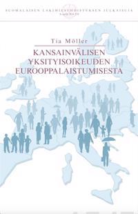 Kansainvälisen yksityisoikeuden eurooppalaistumisesta
