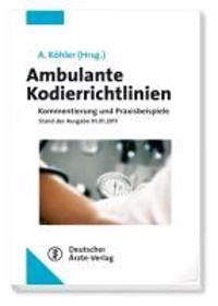 Ambulante Kodierrichtlinien