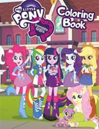 My Little Pony: Equestria Girls Coloring Book
