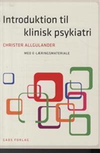 Introduktion til klinisk psykiatri