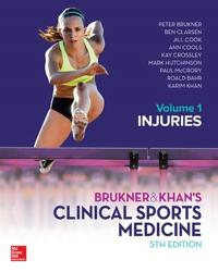 BRUKNERKHANS CLINICAL SPORTS MEDICINE INJURIES  VOL 1