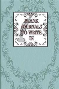 Blank Journals to Write in: Blank Notebook Custom Journal Lined Paper 150 Pages 6x9 Glossy Cover Finish Book 09