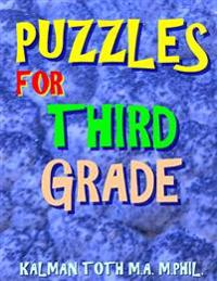 Puzzles for Third Grade: 80 Large Print Word Search Puzzles
