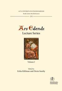 Ars edendi lecture series. Vol. 1