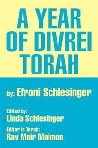 A Year of Divrei Torah