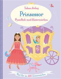 Prinsessor : pysselbok med klistermärken