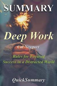 Summary - Deep Work: By Cal Newport - Rules for Focused Success in a Distracted World