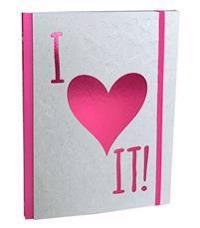 I heart it! : skriv, rita och klistra in allt du älskar