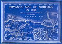 Bryants map of norfolk in 1826