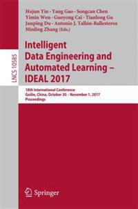 Intelligent Data Engineering and Automated Learning 2017