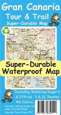 Gran Canaria TourTrail Super-Durable Map