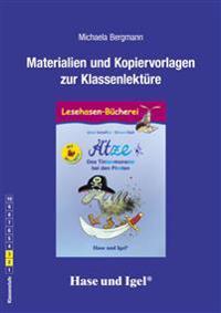 Ätze - Das Tintenmonster bei den Piraten / Silbenhilfe. Begleitmaterial