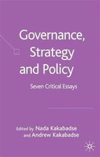 Governance, Strategy and Policy