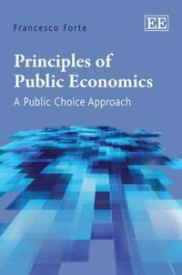 Principles of Public Economics