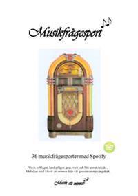 Musikfrågesport : 36 musikfrågesporter med Spotify