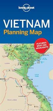 Lonely Planet Vietnam Planning Map Lonely Planet Kartta