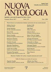 Nuova Antologia - A. Clii, N. 2281, Gennaio-marzo 2017