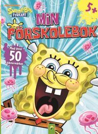 Svampbob min förskolebok 2 : med klistermärken