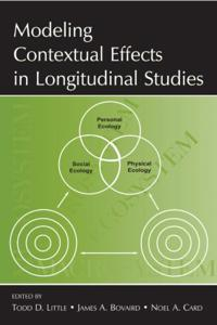 Modeling Contextual Effects in Longitudinal Studies