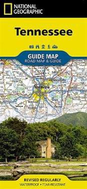 National Geographic Guide Map Tennessee