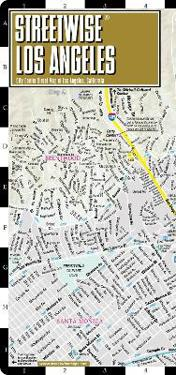Streetwise Los Angeles Map Laminated City Center Street Map Of