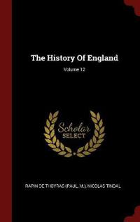 The History of England; Volume 12