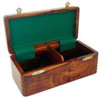 Förvaringsbox för schackpjäser till pjäser upp till höjd 10.2 cm
