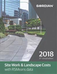 Site Work & Landscape Cost Data with RSMeans Data