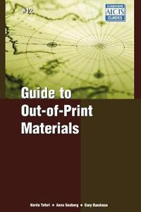 Guide to Out-Of-Print Materials