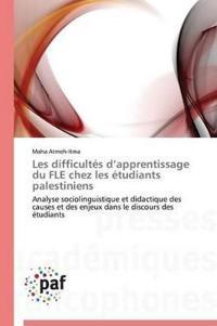 Les Difficult s D Apprentissage Du Fle Chez Les  tudiants Palestiniens