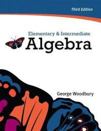 Elementary & Intermediate Algebra plus MyMathLab/MyStatLab -- Access Card Package