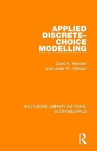 Applied Discrete-choice Modelling