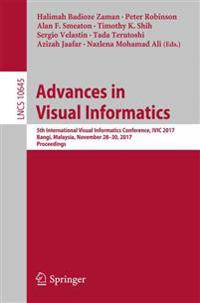 Advances in Visual Informatics