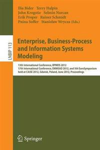 Enterprise, Business-Process and Information Systems Modeling
