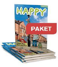 Happy Paket Elevbok F-2 25 ex+Lärarwebb individlic