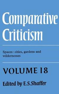 Comparative Criticism an Annual Journal