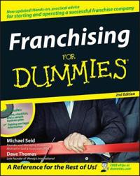 Franchising for Dummies [With CDROM]