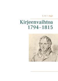 Kirjeenvaihtoa 1794–1815