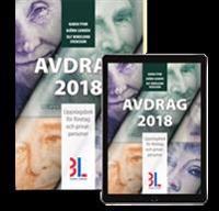 Avdrag 2018 : uppslagsbok för företag och privatpersoner