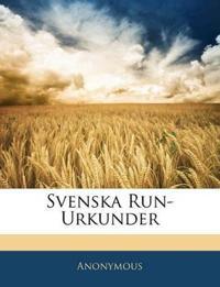 Svenska Run-Urkunder