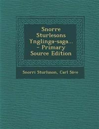 Snorre Sturlesons Ynglinga-saga...